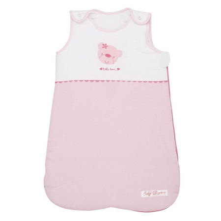 Star Ted Snuggle Pouch Pink