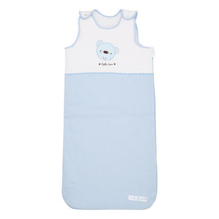 Star Ted Snuggle Pouch Blue
