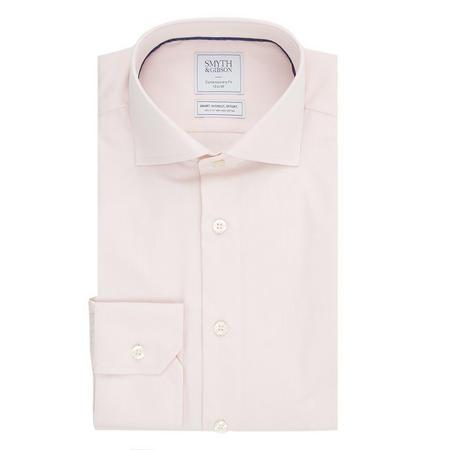 Solid Single Cuff Shirt Pink