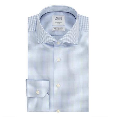 Gingham Shirt Blue