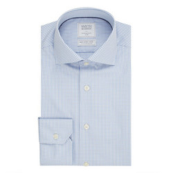 Gingham Shirt Blue