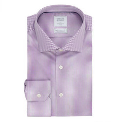 Gingham Shirt Purple