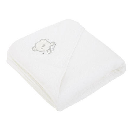 Hooded Towel White