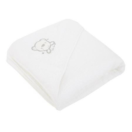 Hooded Towel White