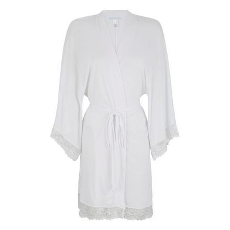Colette Kimono Robe White
