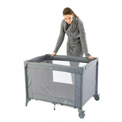 Travel Cot Grey