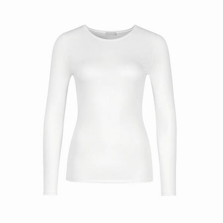 Long Sleeve Soft Touch Top White