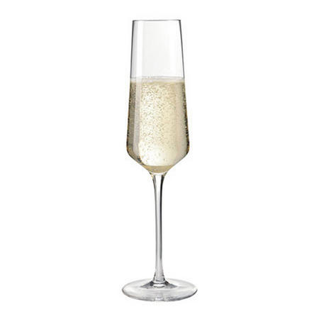 Puccini Champagne Flutes Set Of 6 Clear