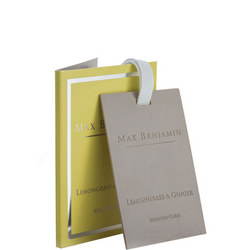 Lemongrass and Ginger Scented Card