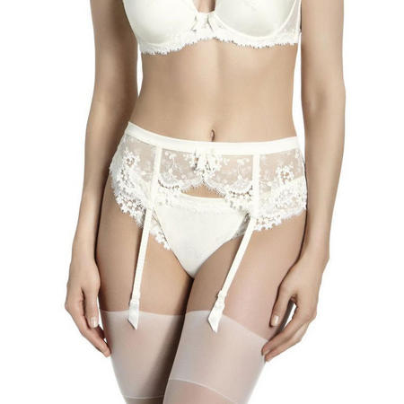 Wish Suspender Belt Ivory