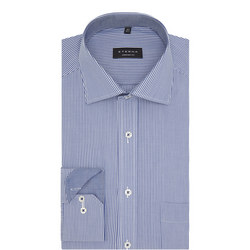 Stripe Comfort Fit Shirt Blue