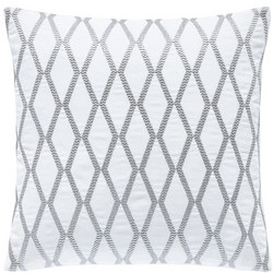 Belvedere Cushion Silver
