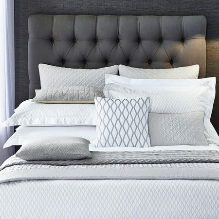 Cadogan Oxford Pillowcase Silver