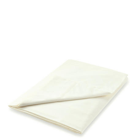 300 Thread Count Egyptian Cotton Flat Sheet Ivory