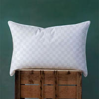 Foxford Check Wall Pillow Pair