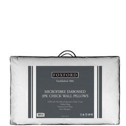 Foxford Check Wall Pillow Pair