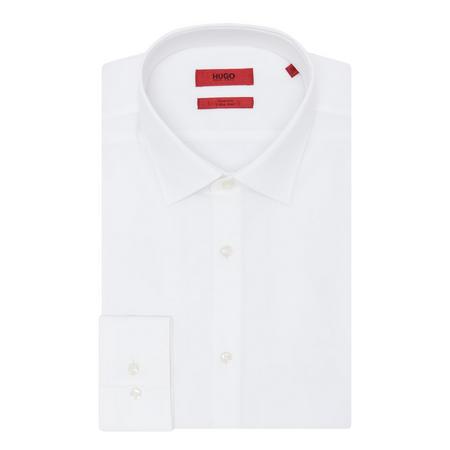 Jenno Plain Shirt White