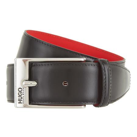 Barney Leather Belt Black