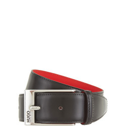 Barney Leather Belt Black