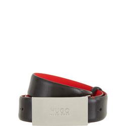 Baldwin Leather Belt Black