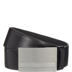 Leather Baxton Belt Black