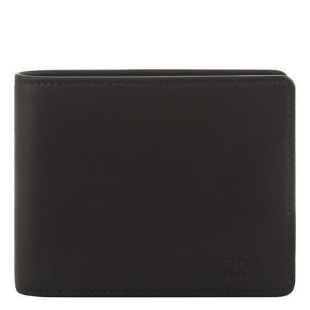 Asolo Leather Billfold Wallet Black