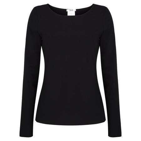 Pure Long Sleeve Top Black