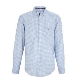 Classic Gingham Shirt Blue