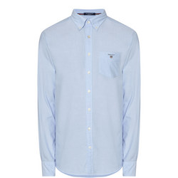 Solid Oxford Shirt Blue