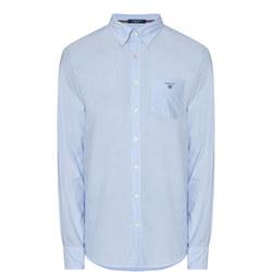 Plain Cotton Oxford Shirt