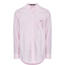 Solid Oxford Shirt Pink