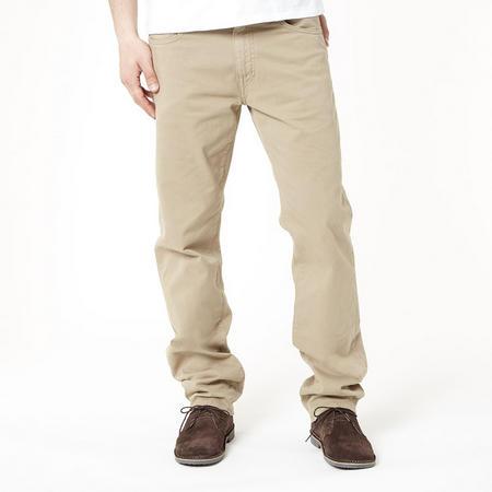 Regular Straight Jeans Beige