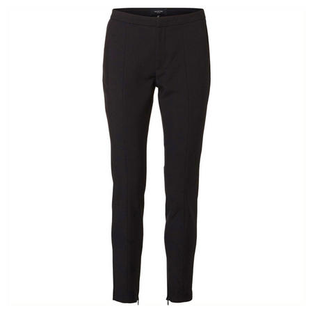 Muse Zip Slim Fit Trousers Black