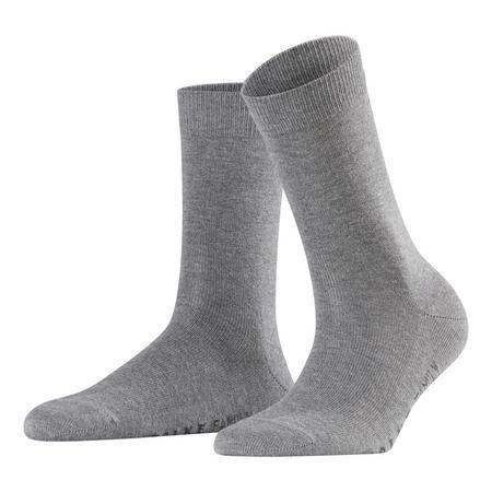 Family Ankle Socks Light Grey