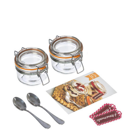 7 Piece Dessert Jar Set