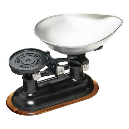 Natural Elements Traditional Balance Scales Black