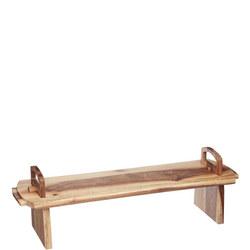 Artesa XL Wooden Antipasti Platform Platter Brown