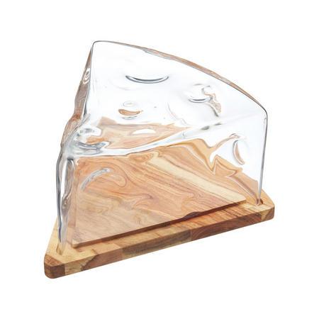 Artesa Cheese Wedge Cloche Clear