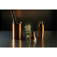 BarCraft Double Walled Wine Cooler  Copper Finish