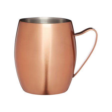 Double Walled Moscow Mule Mug Copper Finish