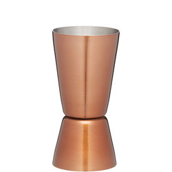 BarCraft Cocktail Jigger  Copper Finish