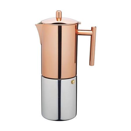 L'Express Copper Effect Espresso Maker 600ml