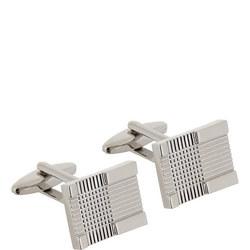 Square Tartan Pattern Cufflinks