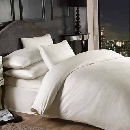 Grosvenor 1000 Thread Count Duvet Cover Set Cream