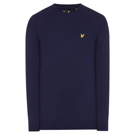 Crew Neck Sweater Navy