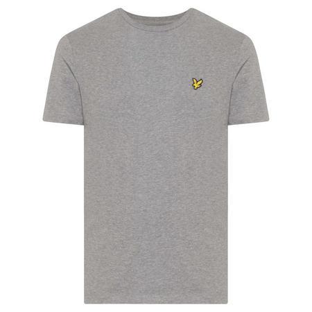 Basic Crew Neck T-Shirt Grey