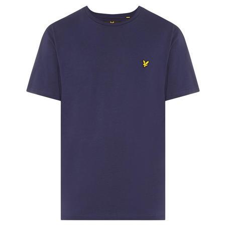Basic Crew Neck T-Shirt Navy