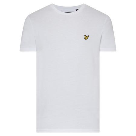 Basic Crew Neck T-Shirt White
