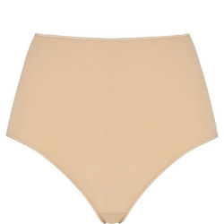 Invisibles High Waist Full Brief Nude