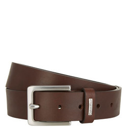 Mino Leather Belt Brown
